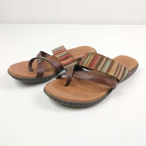 BOC Sandals Multi Color Strap